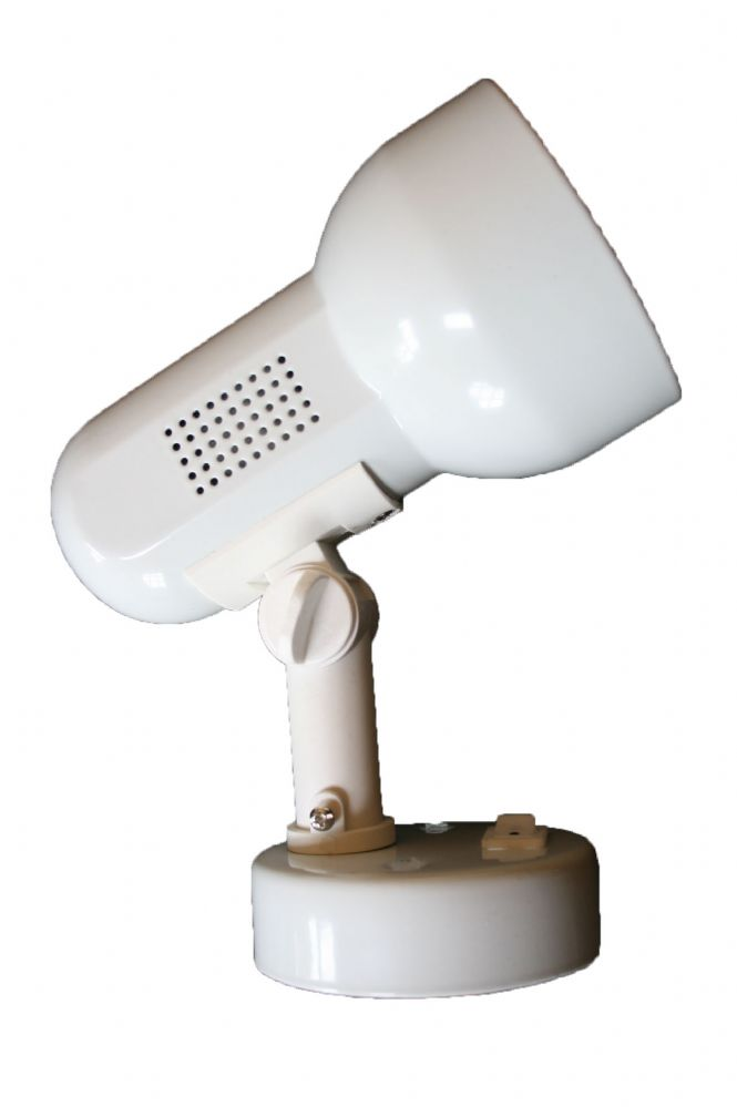Surface Spotlight Fitting Switched White R80 100w Spot Light